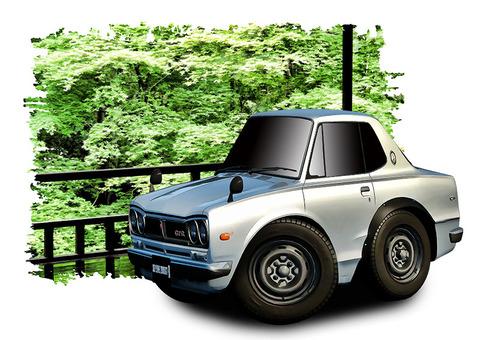 スカイラインGT-Rハコスカ02
