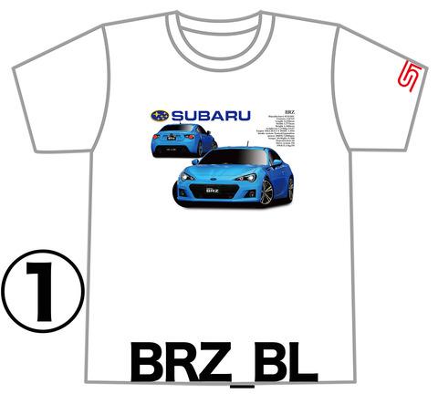 00TシャツBRZ_BL01