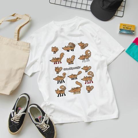 スズリ リスくんのイラストTシャツ みやもとかずみ _2