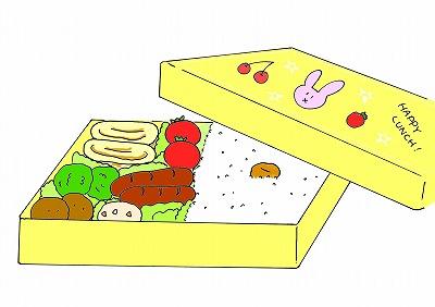 お弁当のイラスト・幼稚園生活のイラスト/m