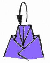 折り紙・雛人形の折り方・イラスト図解/7-めびな