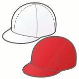 紅白帽のイラスト・絵カード素材|運動会のイラスト