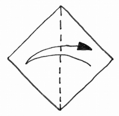 折り紙・雛人形の折り方・イラスト図解/1m