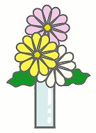 お花のイラスト・絵カード素材|お墓参りのイラスト