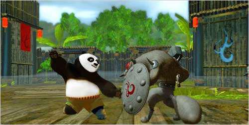 ゲーム版 カンフー パンダ2 予定5月に映画版と同時に発売され