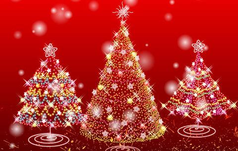 free-vector-illustration-christmas-tree-illumination