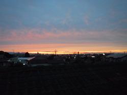 �夕方の空