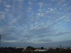 �朝の雲2