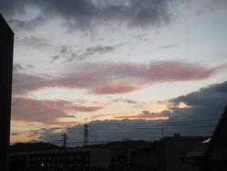 �夕方の雲1
