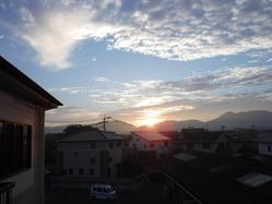 �朝の雲1