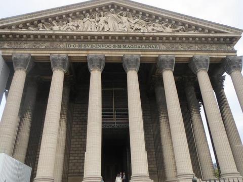 ジャポニスム2018参加認定企画・パリ・マドレーヌ教会1