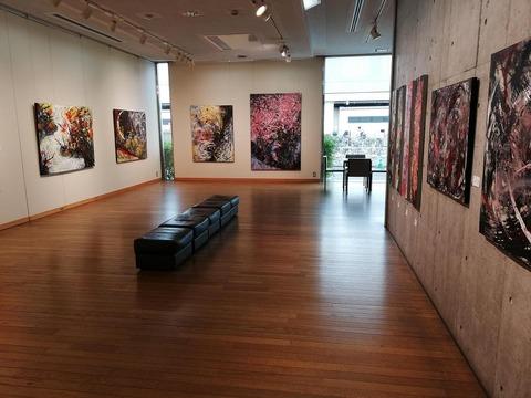 画家・加藤恵美子個展2002(コートギャラリー国立)05