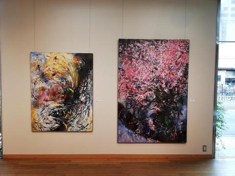 画家・加藤恵美子個展2002(コートギャラリー国立)09