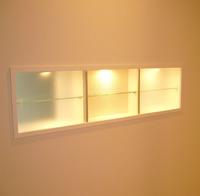 間接照明施工例 飾り棚を使う