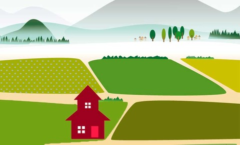 1土地に家を建てる