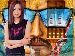 Mai Kuraki and Olinda Graffiti
