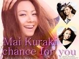 「chance for you」ジャケット写真☆