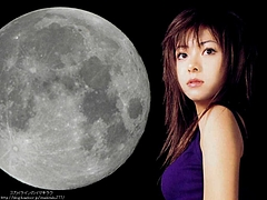 Mai Kuraki and the Moonlight