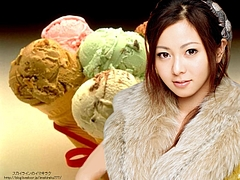 Mai Kuraki and Ice Cream