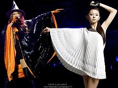 Mai Kuraki Jutice White and Wicked Black