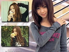 Mai Kuraki says,「This white cream contains of Milk, Sugar, and Love☆」
