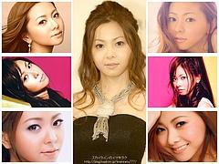 Mai Kuraki Lovely Pink Wallpaper