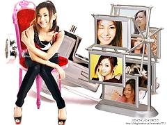 Mai Kuraki with Ferris Wheel Photo Frame