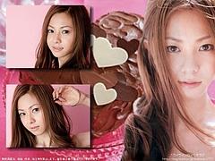 Mai Kuraki The Pinky Chocolate Cake