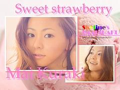 Mai Kuraki and strawberry ice cream
