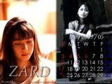 2009年5月カレンダー♪ZARD!