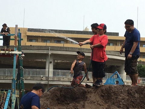 夢パークで泥んこ祭り 526_180527_0004