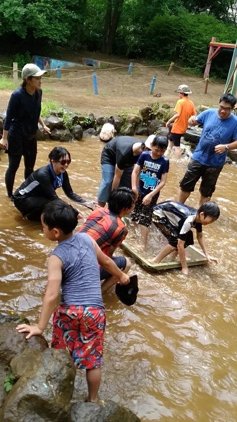 夢パークで泥んこ祭り 526_180527_0111