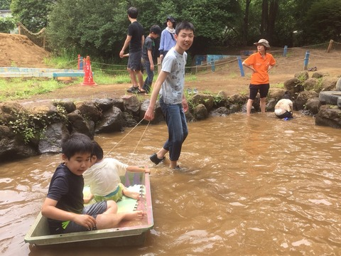 夢パークで泥んこ祭り 526_180527_0157