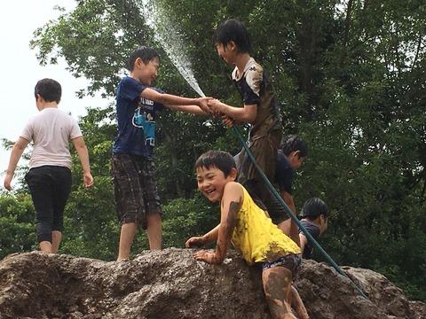 夢パークで泥んこ祭り 526_180527_0014