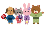 animal_yukata_set