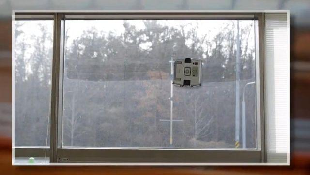 ロボット 窓 拭き