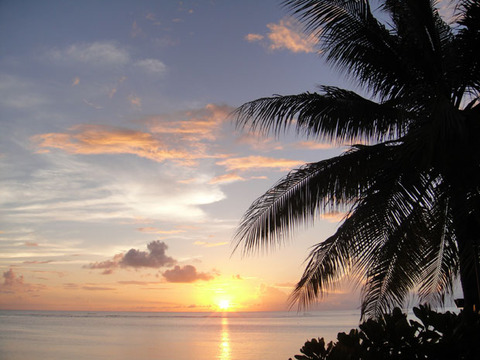 ハワイ朝日