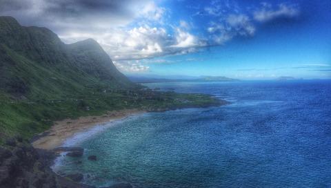 ハワイ街クリ写真