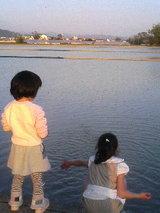 田んぼ写真…湖