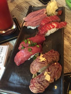 【恵比寿】恵比寿横丁/肉寿司