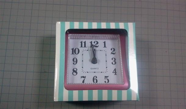 【画像】100均の時計でけいおん!の目覚まし時計を作ってみたの画像