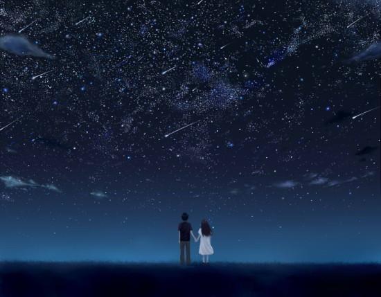 女「星の海で……つかまえて」