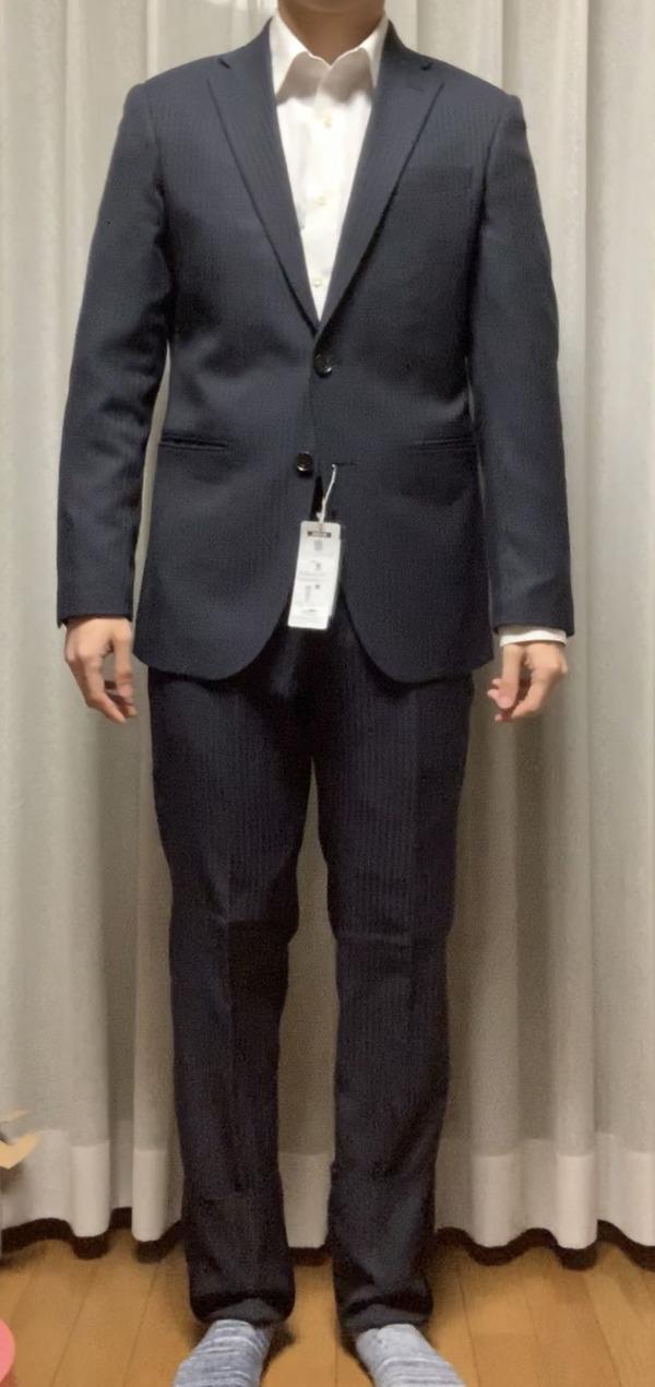 【画像】ワイのスーツ姿どうや?