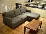 リビングのソファ HUKLAの「ラコンテ」