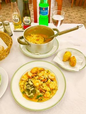 リスボンの食堂