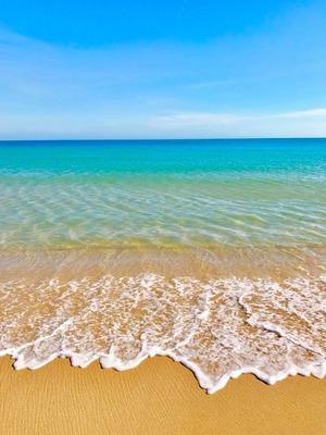 セジンブラの海岸