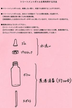 トリートメントボトル