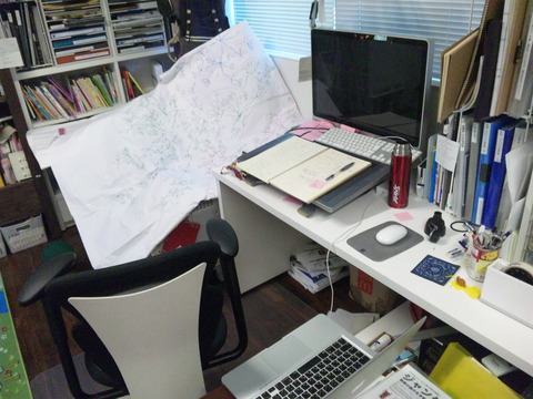 マインドマップをみながら文章を書くということ