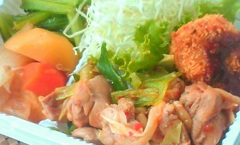 鶏ねぎ炒め(Aセット)