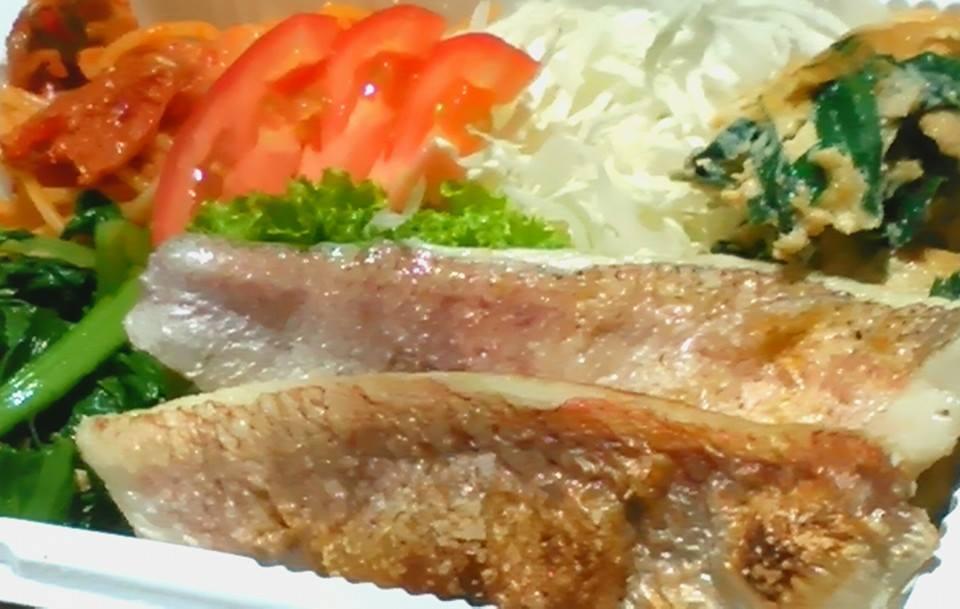 姫鯛塩焼き(Bセット)